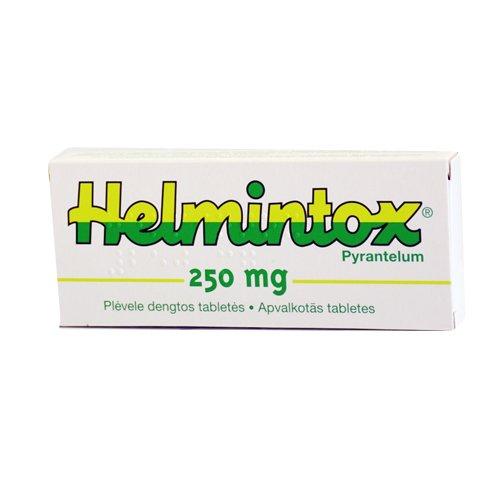 9.FÁRMACOS+antihelmeticos, Oxiuros muertos en las heces