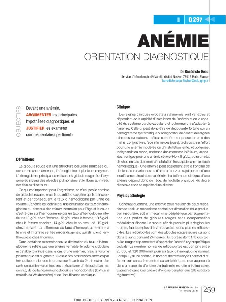 anemie 3eme trimestre grossesse papillomavirus amygdale