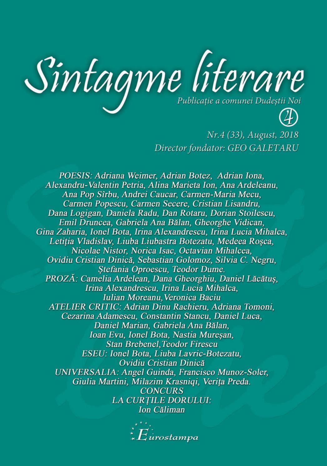 Anul II, nr. () mai-iunie IAŞI, ROMÂNIA - PDF Free Download