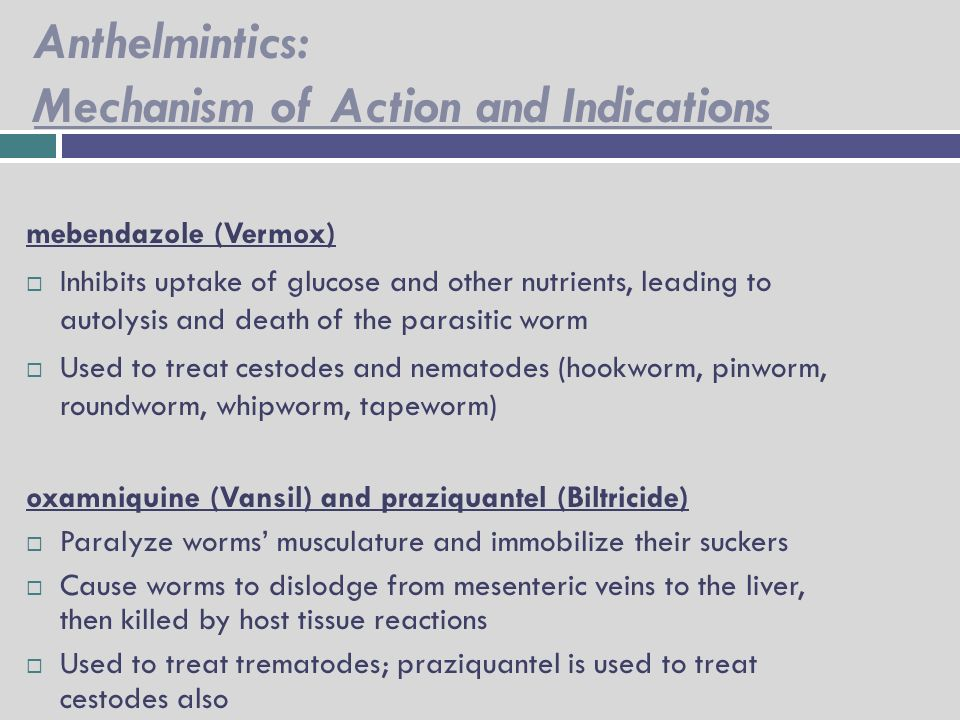 Anthelmintic activity ppt
