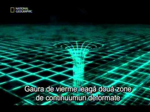 Misterul calatoriei in timp: Gaura de vierme si masina timpului (Video)