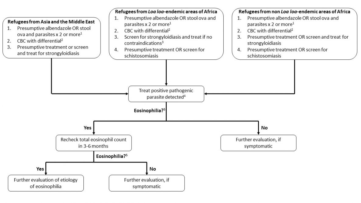 Schistosomiasis treatment guidelines, Schistosomiasis treatment