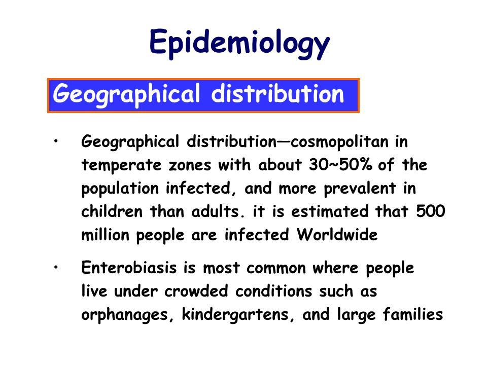 Enterobiasis incidence. Enterobiasis incidence, Cancer uterine or endometrial