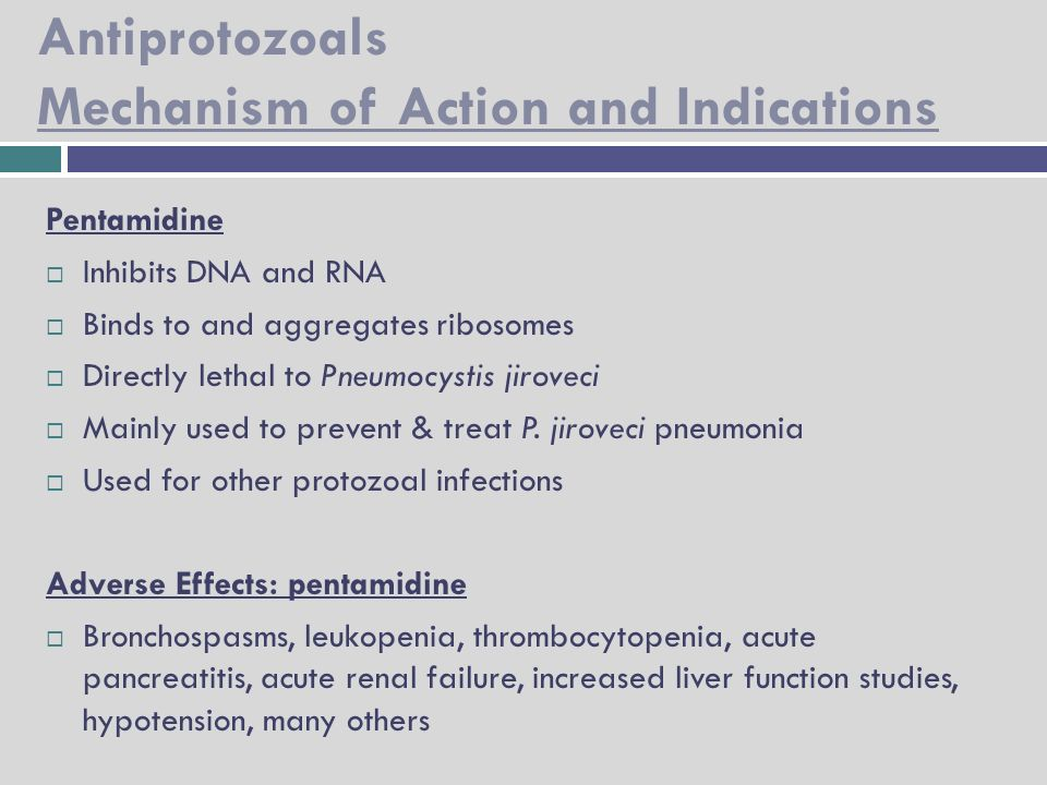 Anthelmintic drugs mechanism of action