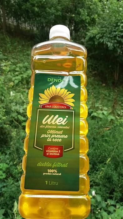 detoxifiere cu ulei floarea soarelui