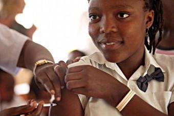vaccin hpv jeune fille