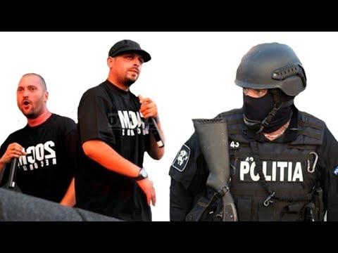 Poliția Română dă în judecată trupa Paraziții. Cum au comis-o din nou Cheloo și Ombladon