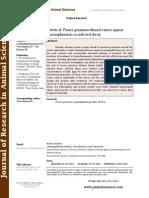 anthelmintic activity of punica granatum