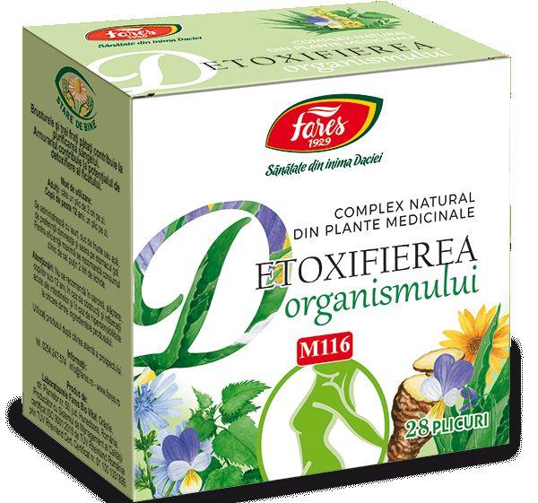Ceai detoxifiant [purificarea organismului] 50g - FARES, pret RON