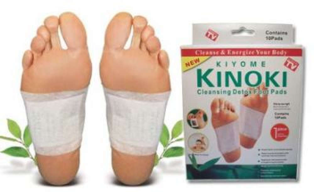 Set 40 plasturi homeopati cu turmalina pentru detoxifiere Kinoki