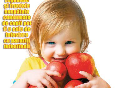 Paraziţii intestinali la copii - Revista Margot
