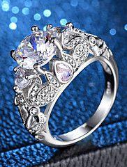 Solitaire placat cu platină Oval Opal de foc Stud cercel logodna bijuterii de nunta
