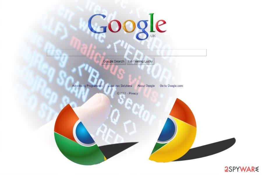 Google chrome virus