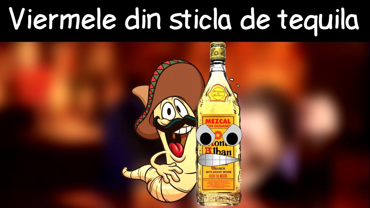 Ospătar, nu există vierme în Tequila mea!