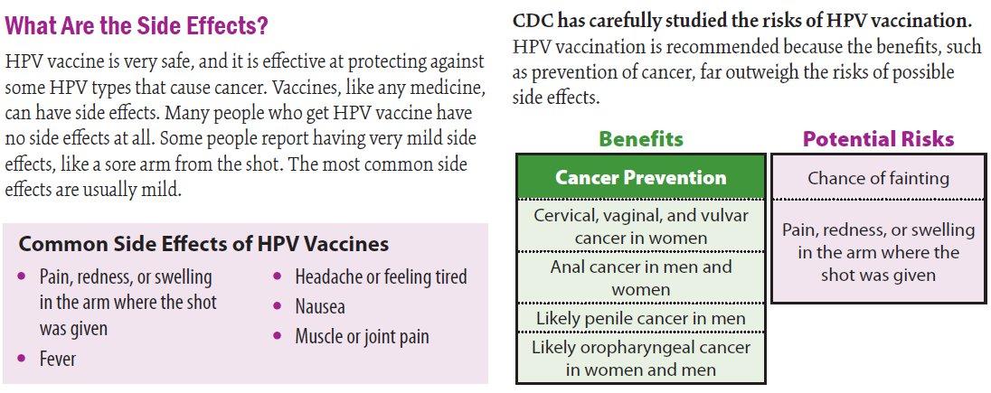 hpv vaccine benefits