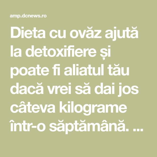 detoxifiere intr o saptamana