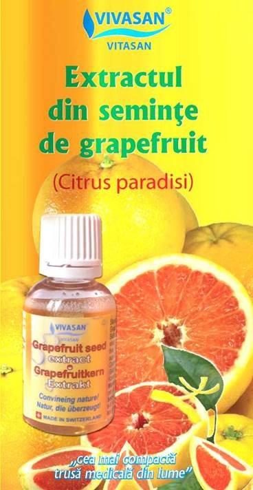 semințe de grepfrut picură insectă
