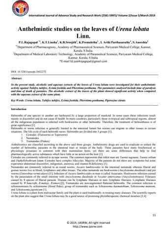 Antihelmintic death. Antihelmintic death, Cancer de pancreas nivel 4