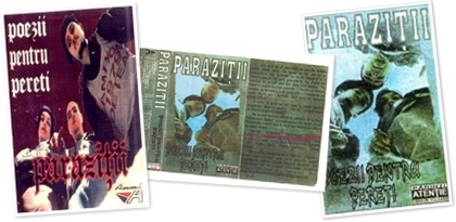 parazitii poezii pentru pereti