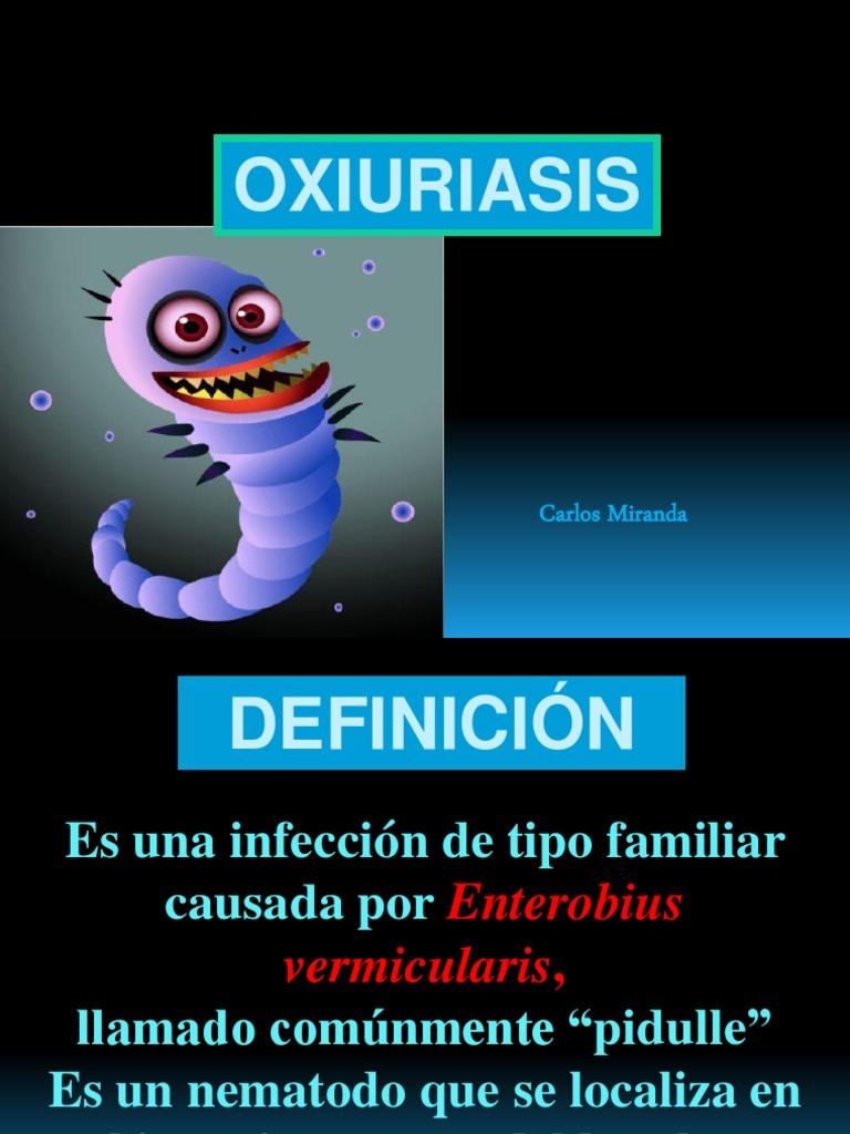 Oxiuros que enfermedad produce
