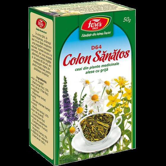 Ceai Curatare Colon 50g FARES