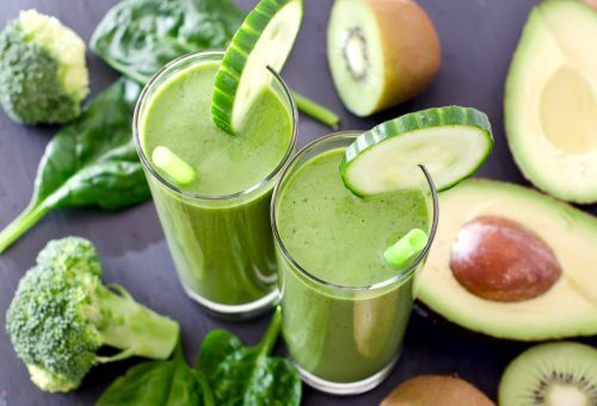 detoxifiere cu sucuri verzi