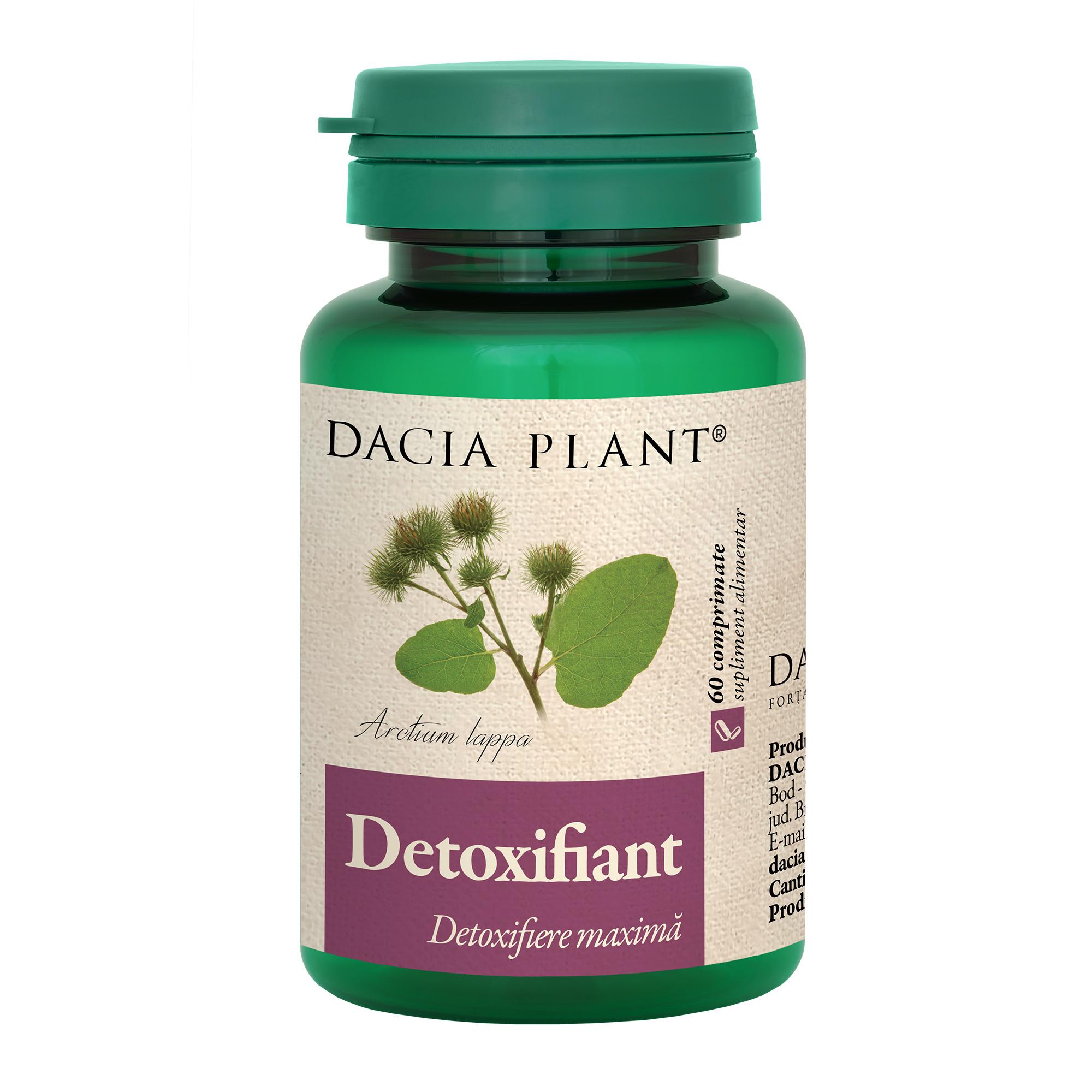 Detoxifiant, 60 comprimate, Dacia Plant