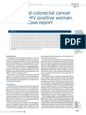 Hiv and gastric cancer. Hiv and bowel cancer - Main navigation