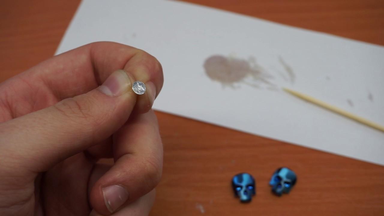 Pin brosa cu platou, D: 11,5 mm, auriu, 1 buc.