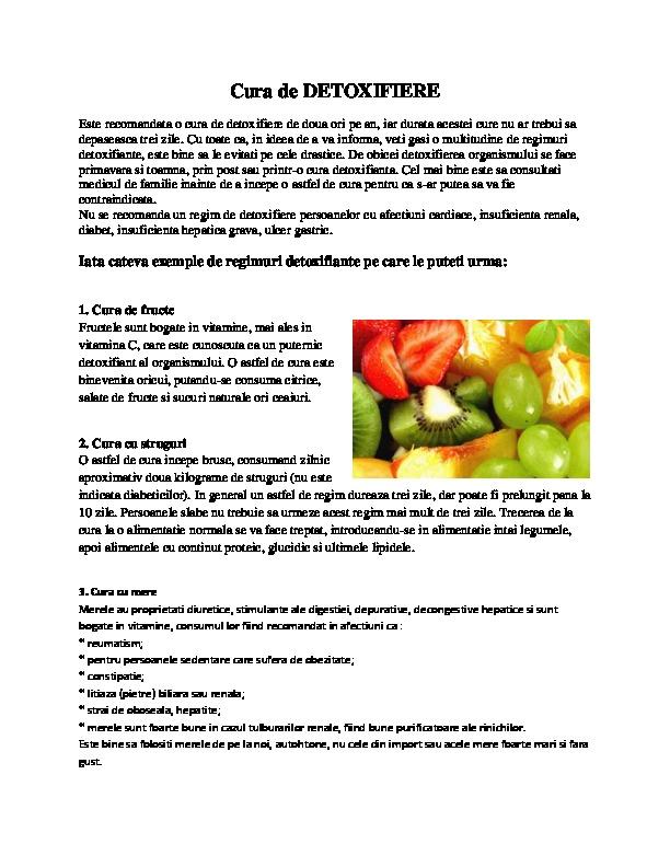 Detox | Detoxifierea organismului | Centru Detox Romania