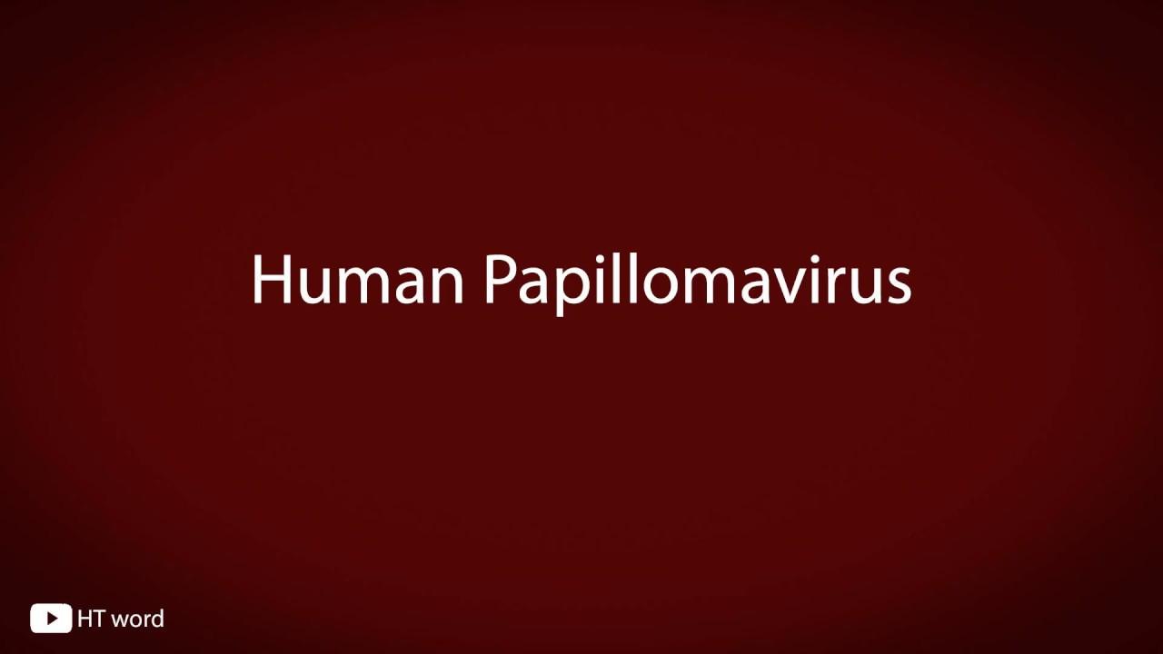 papillomas how to pronounce