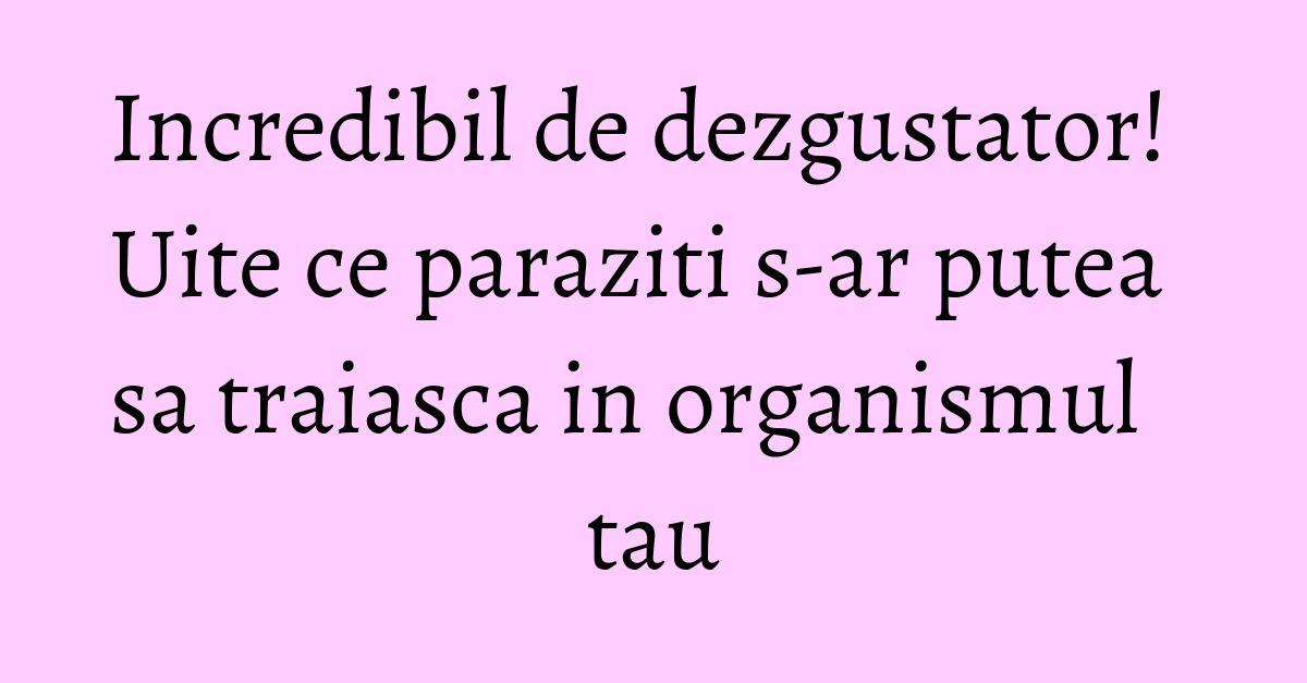 paraziti la ochi cancer personalidade feminina