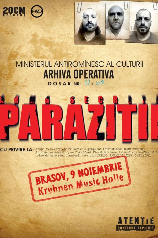 parazitii cluj 2020 bilete
