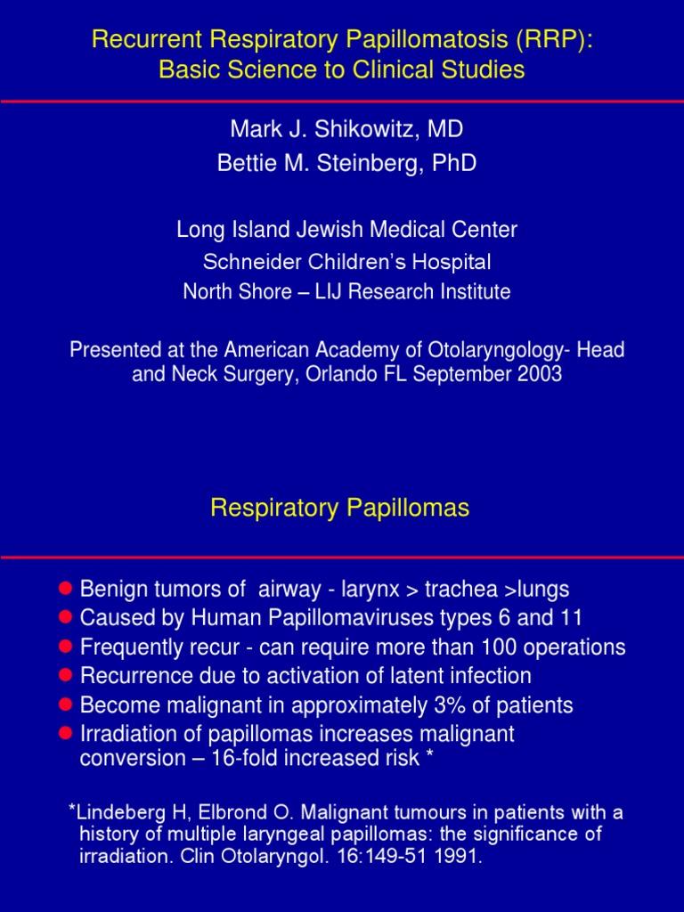Juvenile papillomatosis of larynx, Laryngeal papillomatosis natural treatment