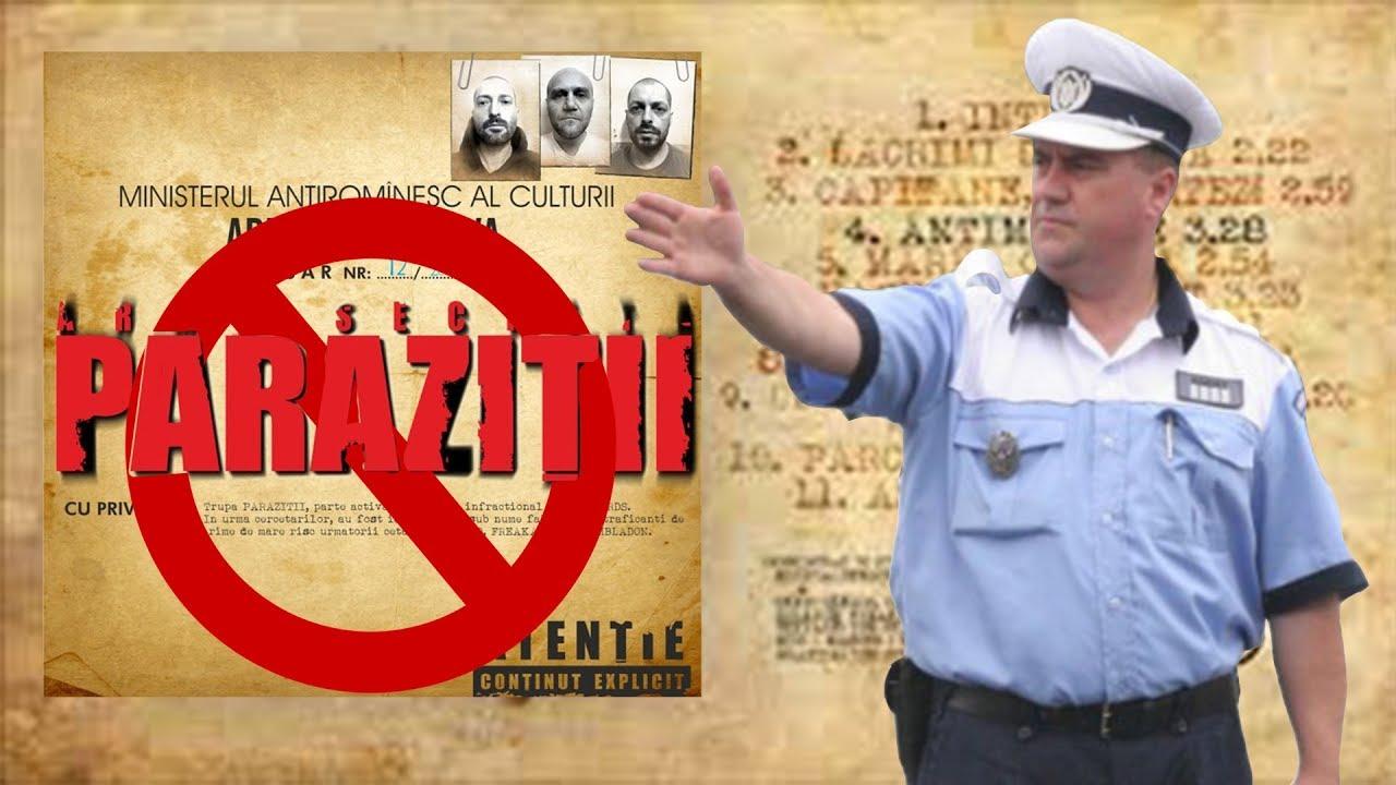 """Trupa """"Paraziții"""" a câștigat în primă instanță procesul cu Poliția Română : Europa FM"""