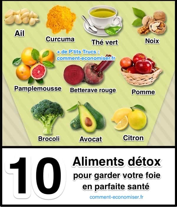 aliment detoxifiant foie