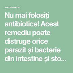 Tratament antibiotic oxiuri